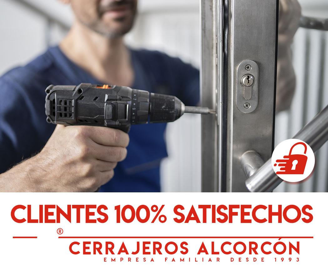 cerrajeros alcorcon clientes 100% satisfechos