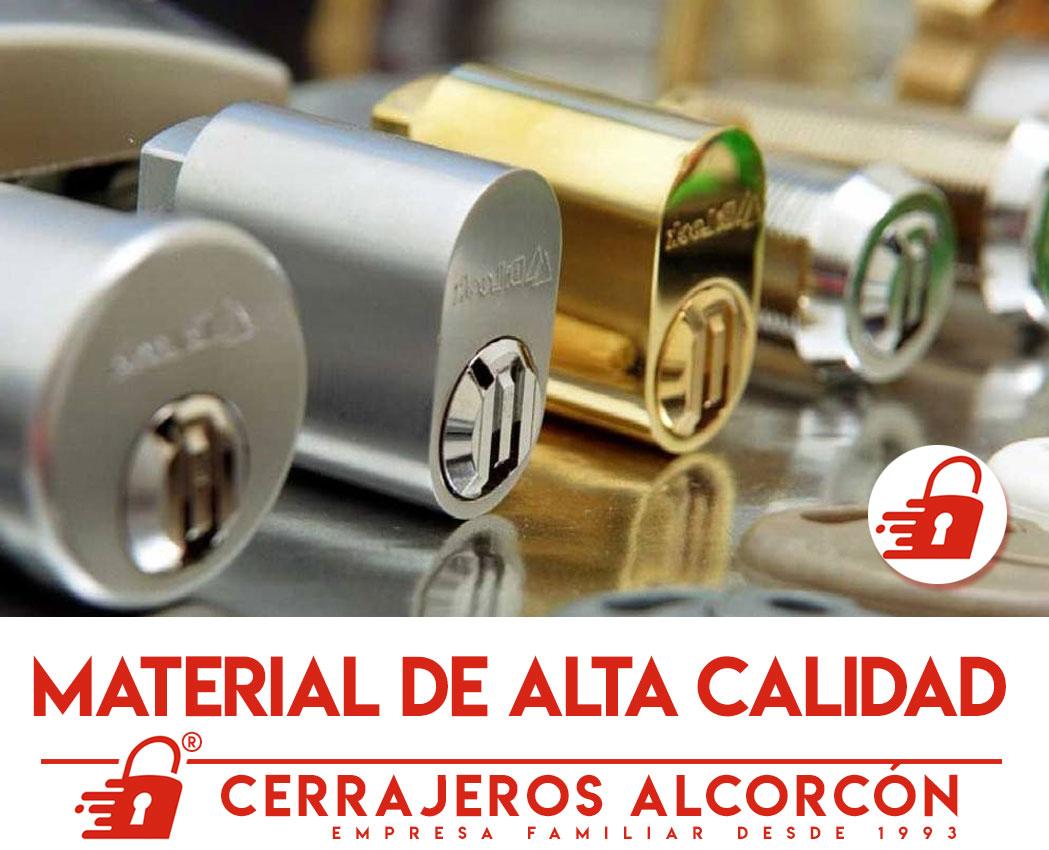 Cerrajeros Alcorcón instalamos material de calidad